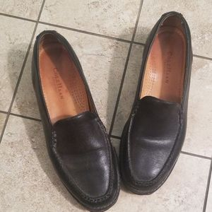 Black Cole Haan Country Slip On Loafers Size 9.5B